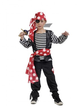 Disfraz de Pirata Marinero para Niño
