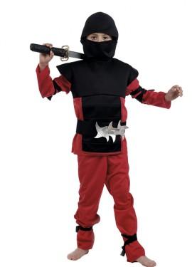 Déguisement de Petit Ninja Rouge. Plusieurs tailles