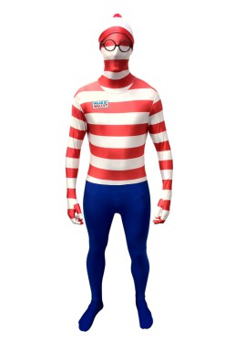 MORPHSUIT modelo Dónde está Wally adultos