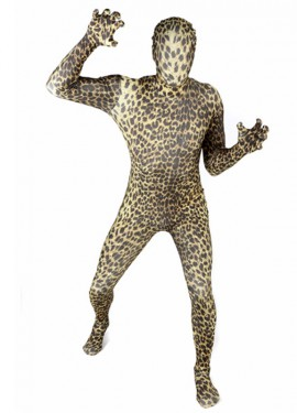 Disfraz MORPHSUIT modelo Leopardo de adultos