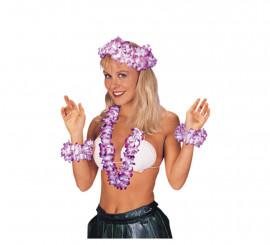 Set d'Accessoires Hawaïen (4 pièces)