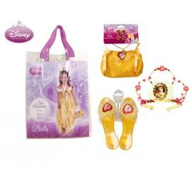 Bolso de La Bella con accesorios y zapatos para niñas