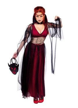 Disfraz La Novia de Drácula mujer para Halloween