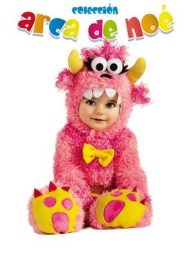 Disfraz de Monstruito Pinky Winky para bebé