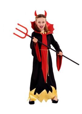 Disfraz Diablesa Siniestra para niñas 3 a 4 años