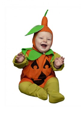 Disfraz de Calabaza bebé de 6 a 12 meses Halloween