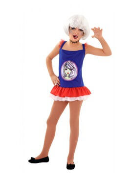 Disfraz de Gothic Monster para niñas