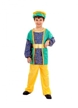 Disfraz de Paje del Rey Gaspar de niños