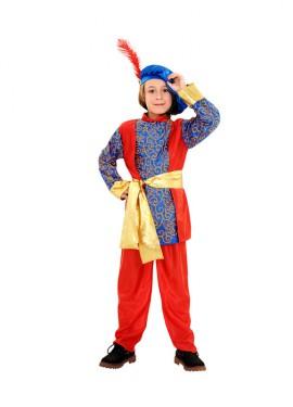 Disfraz de Paje del Rey Melchor de niño