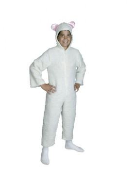 Disfraz de Ovejita Blanca para Navidad