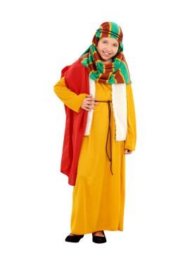 Disfraz de Hebrea amarilla para niñas