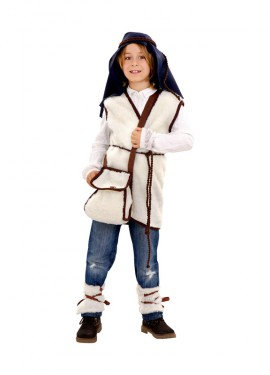 Disfraz de Pastor Cabrero para niños