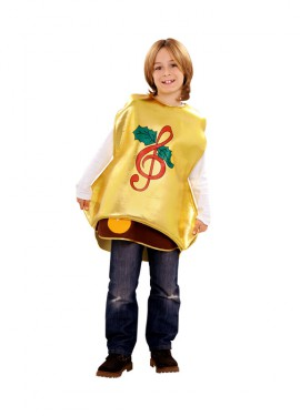 Disfraz de Campana Navideña para niños