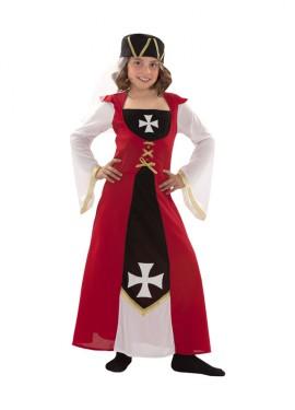 Déguisement de Marquise de Malte pour enfants plusieurs tailles