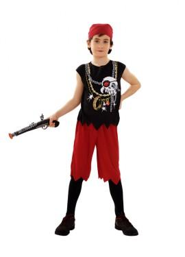 Disfraz de Pirata Calavera para niños