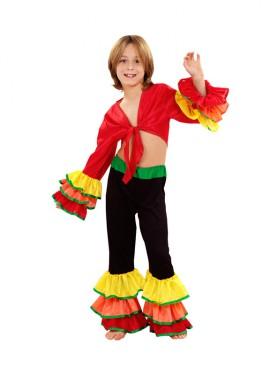 Disfraz de Rumbero para niños de 10 a 12 años