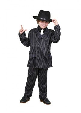 Disfraz de Ganster para niños
