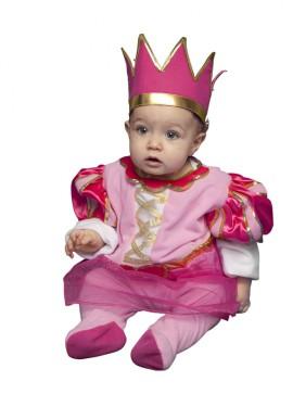 Déguisement Princesse Rose pour bébés de 6 à 12 mois