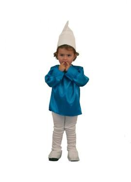 Disfraz de Duende Azul para niños en varias tallas