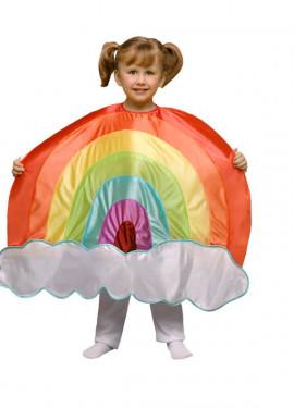 Déguisement arc-en-ciel pour enfants plusieurs tailles