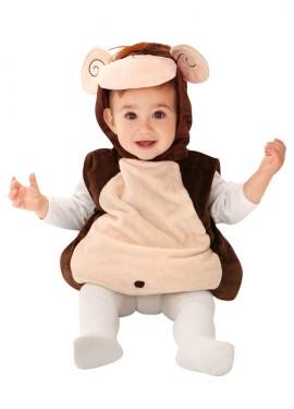 Disfraz de Monito marrón para bebés