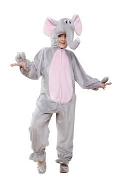 Déguisement éléphant gris et rose pour enfants plusieurs tailles