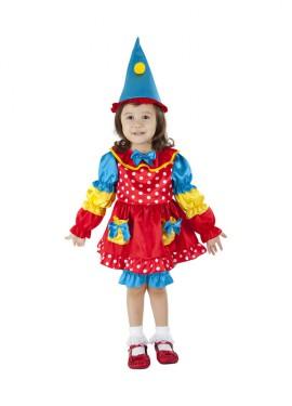 Disfraz de Dulce Payaseta para niñas de 1 a 2 años