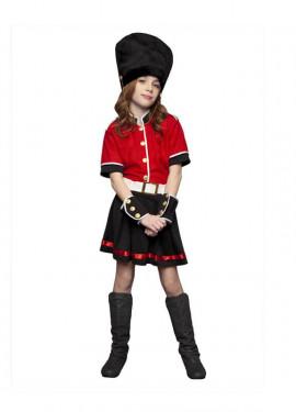 Disfraz Guardia Inglesa para niñas