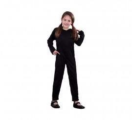 Mono de punto color negro 5-6 años
