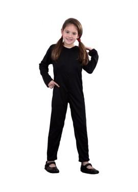 Mono de punto color negro 7-9 años