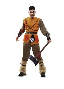Disfraz de Cazador de Cuento Zombie para hombre talla M-L