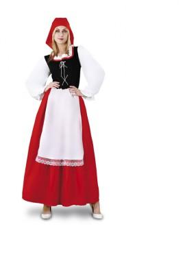 Disfraz de Aldeana para mujer. Talla Standar