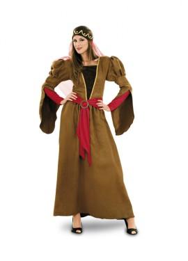 Déguisement de Princesse Médiévale pour Femme taille M-L