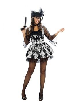 Disfraz de Lady Pirata para mujer talla XXL