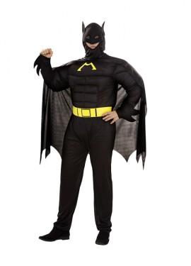 Disfraz de Murciélago Musculoso para hombre XXL