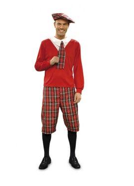 Disfraz de Colegial para hombre talla M-L