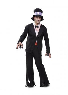 Disfraz de Zombie con Esmoquin para Halloween