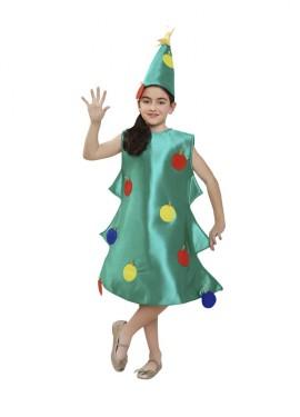 Déguisement de Sapin de Noël pour enfants plusieurs tailles