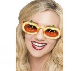 Gafas Calabaza con luz naranja