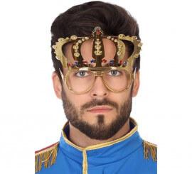 Gafas con Corona Dorada