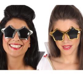 Gafas con Forma de Estrella en 2 colores surtidos