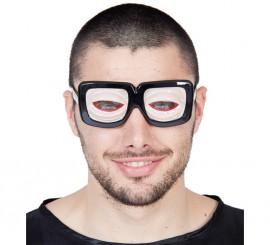 Gafas con ojos saltones