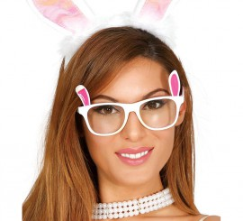 Gafas de Conejita blancas