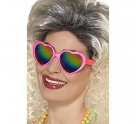 Gafas de Corazones Rosa