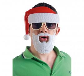 Gafas de Papa Noel para adultos