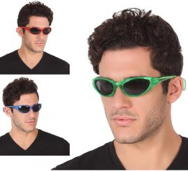 Gafas Disco con Luz en 3 colores surtidos