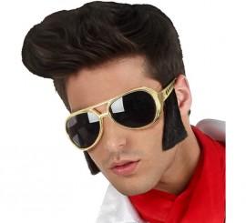 Gafas Doradas del Rey del Rock