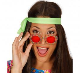 Gafas Flor perfectas para Hippies
