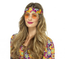 Gafas Hippies Naranjas