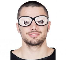 Gafas negras con parpados